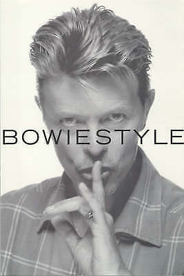 DAVID BOWIE Bowiestyle Bowie Style PAPERBACK BOOK by OMNIBUS PRESS
