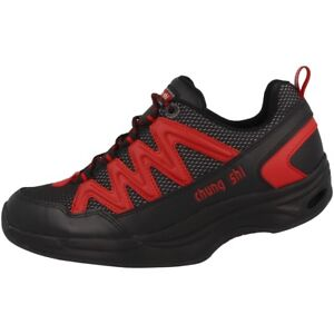 Chung-Shi-Balance-Step-Magic-Men-Scarpe-Da-Uomo-Tempo-Libero-Sneaker-Nero-9101010