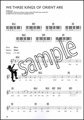 Easiest Keyboard Collection Christmas Easy Sheet Music Book