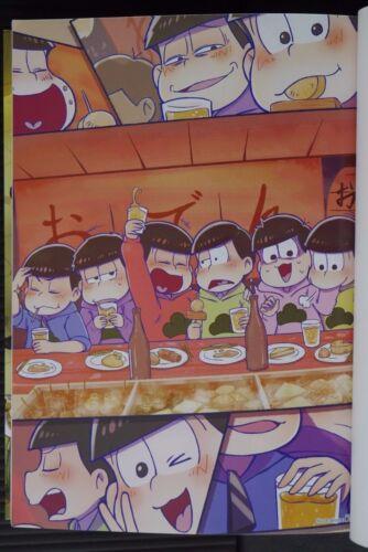 "JAPAN Mr Osomatsu-san Official Anthology Comic /""4 Komatsu-san/"" Osomatsu"