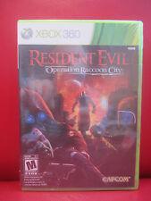 Resident Evil: Operation Raccoon City (Microsoft Xbox 360, 2012) NEW