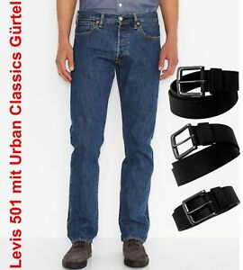 Das Bild wird geladen Levi-s-501-Jeans-Stonewash-incl-Urban-Classics- 27f024b78c4