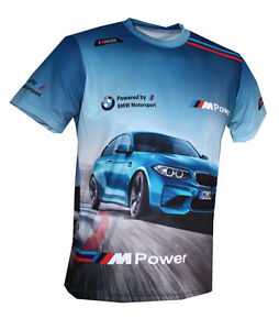 b2c023bdc6 BMW M2 M-Power - All Over Sublimation Print T-shirt   Motorsport DTM ...