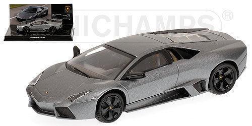 1:43 Minichamps Lamborghini Reventon 2007  - Matt Grey Museum Series