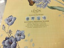 Set of 4 Lenox 873080 Butterfly Meadow Carved Vanilla Mugs