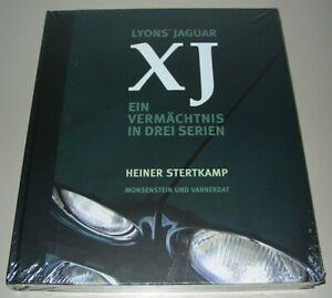 Bildband-Prachtband-Lyons-Jaguar-XJ-Ein-Vermaechtnis-in-drei-Serien-Buch-NEU