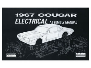 image is loading new-1967-cougar-electrical-assembly-manual-wiring-diagrams-