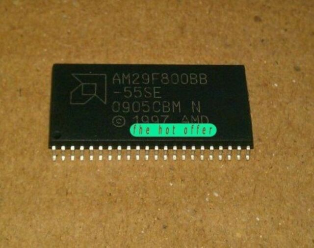 5 pcs AMD AM29F800BB-70SE SOP-44 8 Megabit 1 M x 8-Bit//512