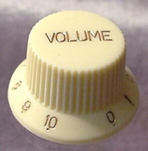 cream gold electric guitar volume knob push on 0 10 ebay. Black Bedroom Furniture Sets. Home Design Ideas