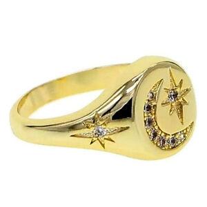 "DJADEE Halskette /""Rose/"" 18 Karat Gold vergoldet Zirkonia gelbgold Damen K5517D"