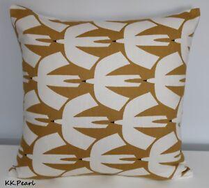 Details About Scion Pajaro Cushion Cover 16 Designer Home Decor Retro Scandi Style Bird Print
