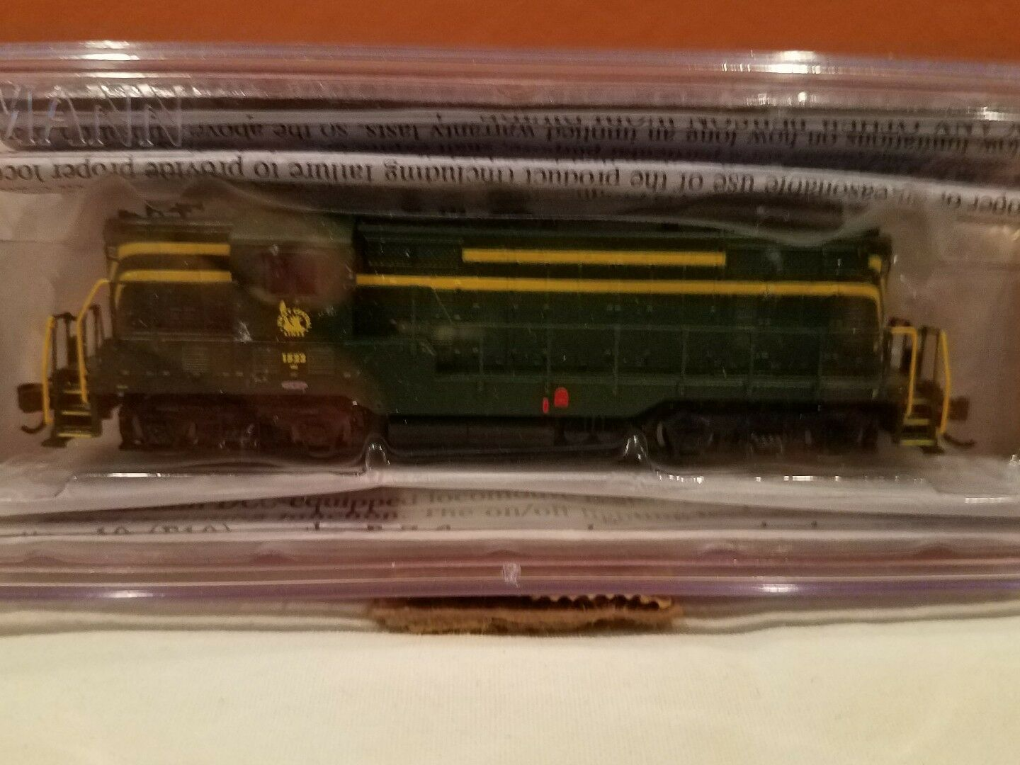 N SCALE BACHMANN LOCO GP7 DIESEL JERSEY CENTRAL DCC EQUIPPED NEW