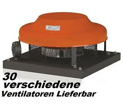 CF250 Dachgebläse Dachlüfter Abzuggebläse Dach Wand Lüfter Ventilator Gebläse