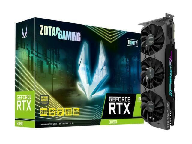 ZOTAC GAMING GeForce RTX 3090 Trinity 24GB GDDR6X Graphics Card for sale online | eBay
