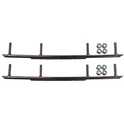 """ADX BX MTX RZ XT XTX XCS XPT Woody/'s C/&A Pro Ski 8/"""" Round Bar Carbide Wearbars"""