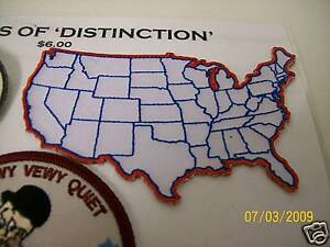 Details about *NEW* Small USA Country Map Patch Biker Heat seal Motorcycle on midwestern usa map, auto usa map, american flag usa map, license plate usa map, hitchhiking usa map, palm tree usa map, ski usa map,