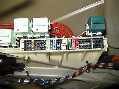 bmw 5 series e39 fuse box trunk 528i 1997-98-99-2000-