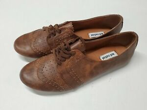 """Not Rated /""""Spitting Tan/"""" Lace up  Flats"""