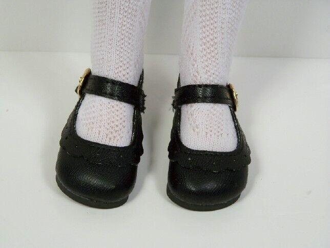 "Debs 2 Tone BLACK /& WHITE Classic Doll Shoes For 16/"" Helen Kish Season Dolls"