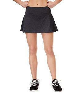 Ideology Women's Black Spaced-dye Pockets Moisture Management Skort Nwt Size 2xl 100% Original Women's Clothing