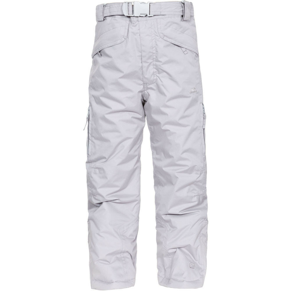 Trespass Marvelous Kids Ski Pants, Platinum