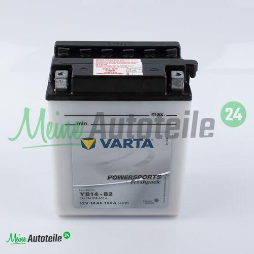 Batterie Moto Original Varta Power ports Freshpack yb14-b2 12 V 14ah NEUF