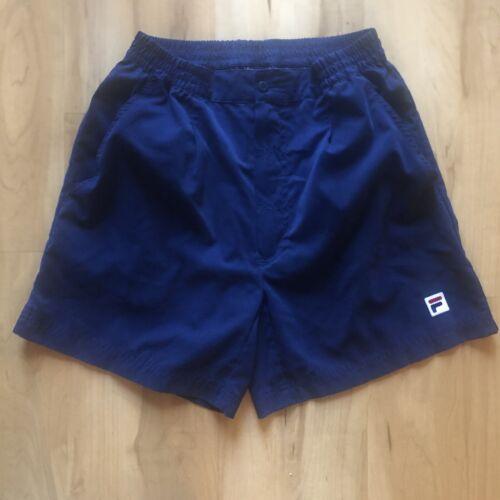 Vintage 90's FILA Blue TENNIS SHORTS Mens Small