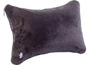 Nackenkissen-Kopfkissen-Reisekissen-Aufblasbares-Kissen-mit-Soft-Fleece-Bezug