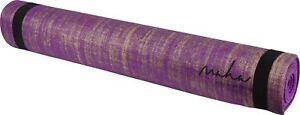 More-Mile-Maha-Jute-Yoga-Mat-Purple-Durable-Eco-Natural-Non-Slip-Textured