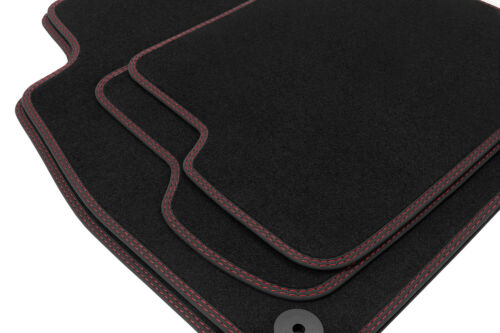 Premium Doppelziernaht Fußmatten für Mercedes A-Klasse W169 Bj 2008-2012