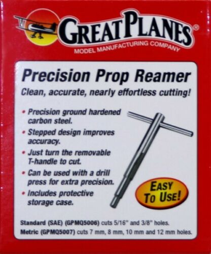 Great Planes Precision RC Remote Control Airplane Prop Reamer Standard : OS O.S.