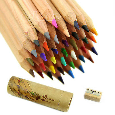Artist 48 Colors Professional Fine Drawing Pencils for Writing Sketching
