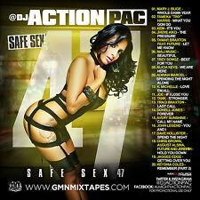 DJ ACTION PAC- SAFE SEX 47 (MIX CD) MARY J, TINY, KEM, TAMAR, JHENE AIKO, TANK