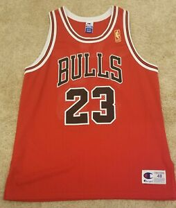 on sale 32917 57a5a Details about 1996-97 NBA 50th Michael Jordan Chicago Bulls Champion  Authentic Jersey size 48