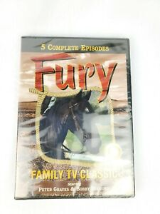 Fury-Family-TV-Classic-New-Sealed-DVD-5-Episodes-Free-Shipping