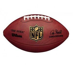 Wilson-American-Football-034-The-Duke-034-official-Game-Ball-Leder-Super-Bowl-NFL