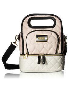 Betsey Johnson Insulated Top Handle Lunch Tote Bag - Blush