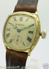 "WALTHAM DOUBLE HERREN ARMBANDUHR ca.30er JAHRE ""Illinois Watch Co. Springfield"""