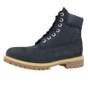 Timberland-6-Pulgadas-Premium-Botas-Botas-Hombre-azul-marino-6163A-Classic
