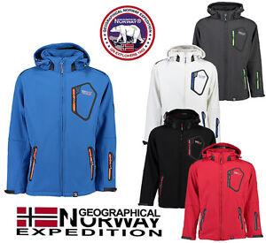 compra especial linda descuento de venta caliente Detalles de Oficial Geographical Norway tephiline Para Hombre Chaqueta  Softshell lluvia Sports- ver título original