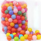 70mm Colorful Soft Plastic Ocean Ball Safe Baby Kid Pit Swim Interesting Toy