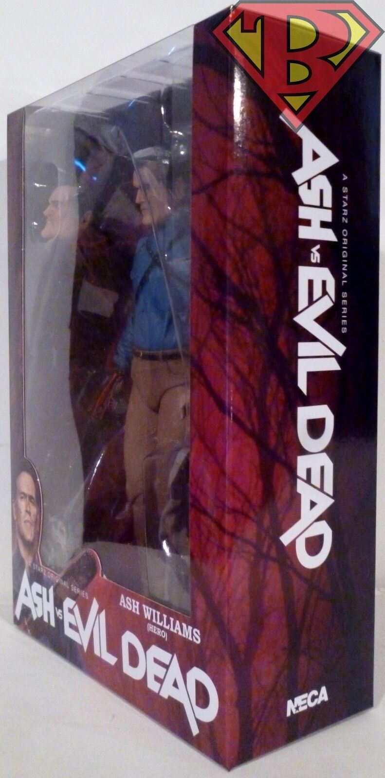 HERO ASH Ash vs Evil Dead 7  Scale Starz Starz Starz TV Action Figure Series 1 Neca 2016 efd78d