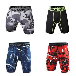 Men-Gym-Sports-Compression-Wear-Under-Base-Layer-Shorts-Pants-Athletic-Tights