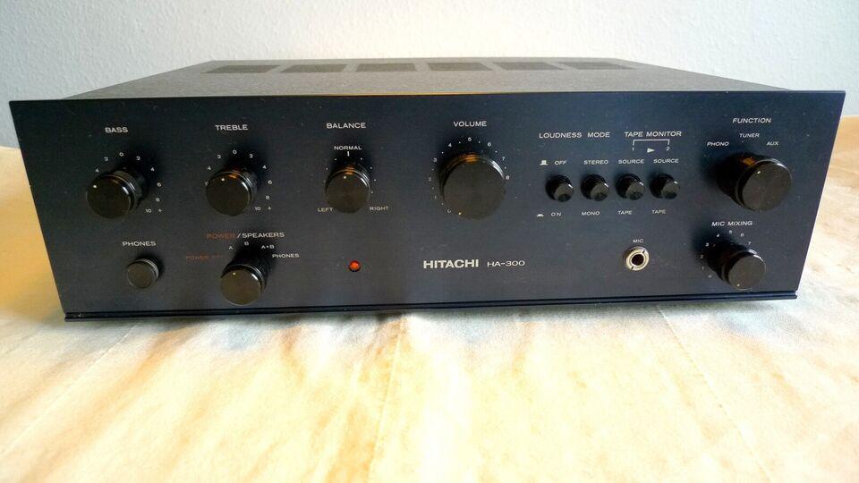 Integreret forstærker, Hitachi, HA-300