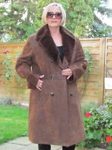 MENS-L-XL-Shearling-Lambskin-Sheepskin-Lamb-Herren-Lamm-Coat-Jacket-D3629