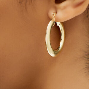 Sevil-18k-Gold-Plated-Round-Hoop-Earrings