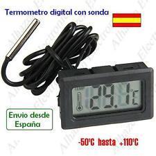 Termómetro digital De temperatura (-50 ºC hasta +110 ºC) + sonda