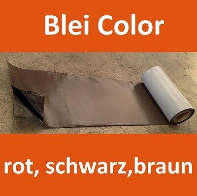 5m Rolle Walzblei Blei Color Für Kaminanschluss Rot,braun,schwarz Selbstklebend Noch Nicht VulgäR Fürs Dach