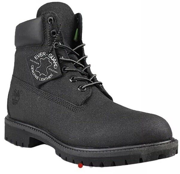 | Timberland 6 Basic Boot Black TecTuff Leather