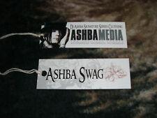 DJ ASHBA RARE !! ASHBA SWAG 2009 PROMO CLOTHING TAG